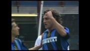 Torre di Cruz, goal di sinistro di Vieri con il Livorno