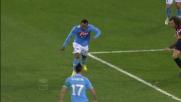 Euro goal di Zuniga al San Paolo contro il Genoa