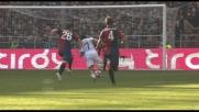 Bocchetti strattona Cossu e concede un penalty al Cagliari