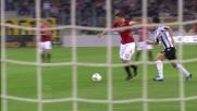 All'Olimpico di Roma Handanovic respinge il tiro di Totti