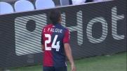 Al Marassi Brkic respinge un tiro ravvicinato di Iago Falque