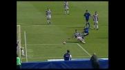 Percussione di Giovinco, il palo difende di nuovo l'Udinese