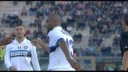 Goal della tranquillità di Maicon a Livorno