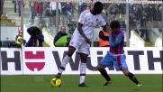 Mario Balotelli statuario contro il Catania