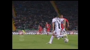 Di Michele, stop col tacco contro la Juventus