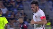 Florenzi spara da lontano contro il Cagliari, mira imprecisa