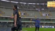 Toni non prende bene la sostituzione in Verona-Catania