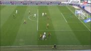 Frara segna di testa il goal vittoria per il Frosinone a Verona