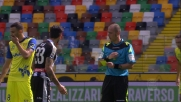 Fallo da dietro di Kone su Birsa: è cartellino giallo per il bianconero