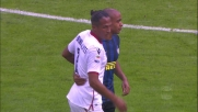 Fallo di Joao Mario sul connazionale Bruno Alves: cartellino giallo in Inter-Cagliari