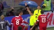 Fallo di mano di Rossi in area: rigore per la Sampdoria