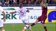 Fallo duro di Mexes su Totti