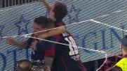 Farias fa impazzire il Sant'Elia con il goal del 4 a 3 in rimonta sul Sassuolo!
