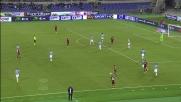 Farnerud segna il goal del momentaneo pareggio contro la Lazio