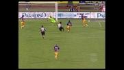 Fava segna il quarto goal dell'Udinese contro il Parma