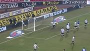 Favoloso destro a giro di Mannini, ma è solo traversa per la Sampdoria a Udine