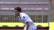 Favoloso goal del Cagliari a Lecce: segna Acquafresca al volo