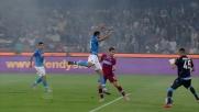 La Lazio chiude i conti con il Napoli grazie al goal di testa di Klose