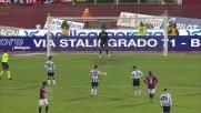 Di Natale porta in vantaggio l'Udinese sul Bologna da calcio di rigore