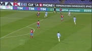 Felipe Anderson brucia la difesa del Napoli ma i compagni non ne approfittano