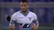 Felipe Anderson sbaglia lo stop davanti a Mirante