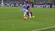 Felipe Anderson serve Basta con un colpo di tacco