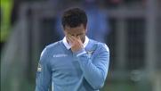 Felipe Anderson spaventa il Milan, ma calcia fuori da buona posizione