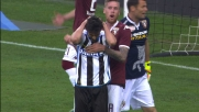 Felipe da due passi sbaglia un goal incredibile in Udinese-Torino