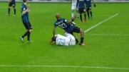 Felipe Melo frana su Milinkovic-Savic regala il rigore alla Lazio