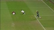 Felipe spinge Pazzini e regala il rigore al Milan