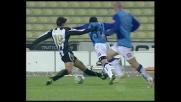 Felipe stende Pellissier, punizione per il Chievo