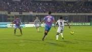 Fernandes colpisce il palo con Andujar battuto