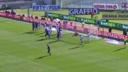 Fernandez sfiora il goal direttamente da calcio d'angolo