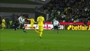 Fernando prova a spingere la Sampdoria al Friuli. La sua conclusione spaventa l'Udinese