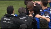 Ferreira Pinto mette il timbro sul 3-0 dell'Atalanta