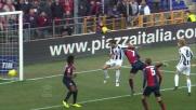 Ferronetti salta più in alto di tutti e realizza il goal del vantaggio dell'Udinese
