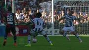 Figueiras, duro intervento su Chiellini che conquista il rigore in Genoa - Juventus