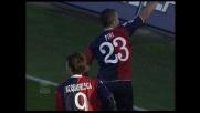 Fini capitalizza l'assist di Cossu e sigla il goal vittoria sul Palermo