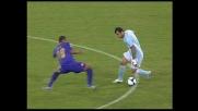 Finta di Pandev che si libera di Felipe Melo e lancia la Lazio in attacco