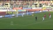 Finta e conclusione di Milito per il goal del vantaggio nerazzurro a Livorno