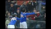 Finta e tiro, gran goal di Pazzini per il raddoppio della Sampdoria sul Milan