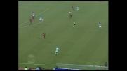 Fiore apre le marcature per la Lazio nel derby capitolino