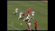 Firmani infila Navarro e segna il goal del 2-0 della Lazio sul Napoli