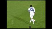 Floccari ci prova dalla distanza in Cagliari-Atalanta: palla fuori