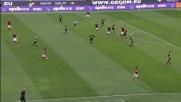 Florenzi prova la giocata spettacolare contro il Verona ma il suo tiro-cross viene respinto