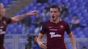Florenzi sblocca il match dell'Olimpico contro il Genoa con un goal di pura potenza