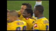 Floro Flores realizza un goal di potenza: l'Udinese pareggia all'Olimpico di Roma
