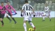 Floro Flores segna il goal del momentaneo pareggio contro la Juventus