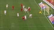 Kolarov cade nel tranello di Taddei: rigore per la Roma nel derby