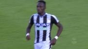 Fofana segna un goal di destro dal limite dell'area contro il Cagliari